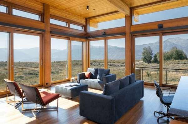 Заказ панорамных деревянных окон у «Vinchelli»