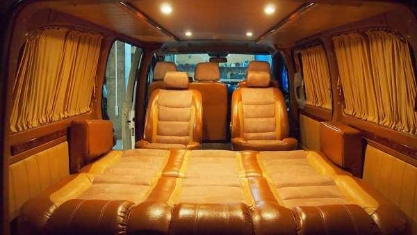 Переоборудование микроавтобуса – бюджетный дом на колесах