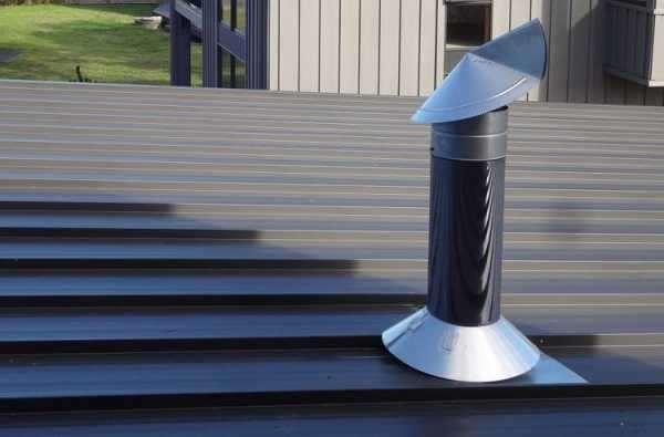 Профессиональный ремонт металлических дымоходов