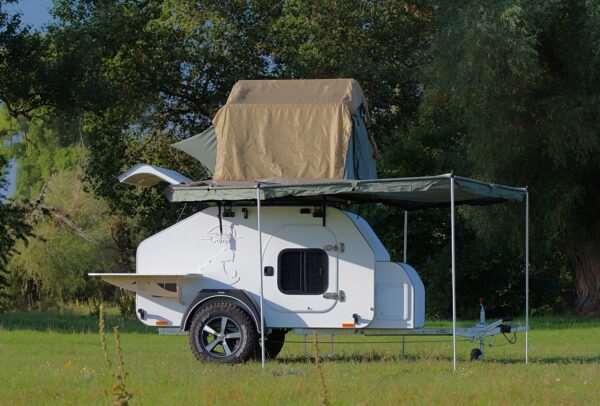 Кемпер – незаменимый автомобильный прицеп для охотника