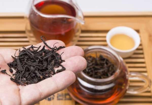 Этапы приготовления чая Да Хун Пао