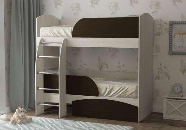 Двухъярусная кровать — оптимальное разделение места