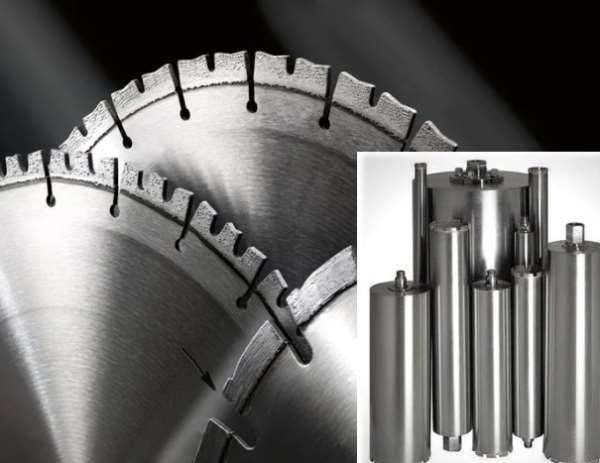 Почему алмазные диски и коронки для бетона стали популярными?