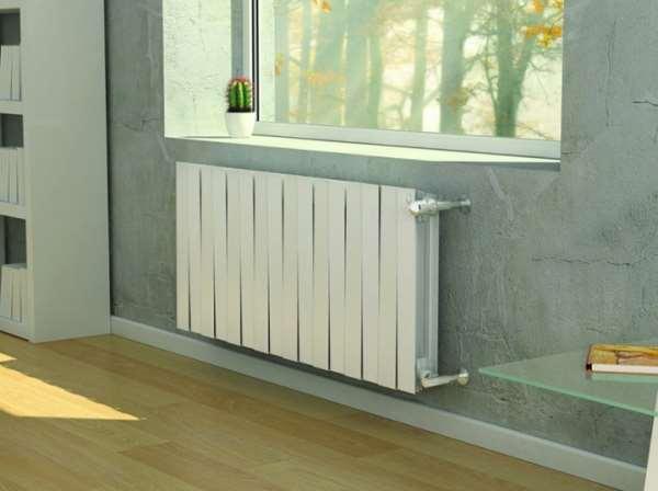 Биметаллические радиаторы современного типа
