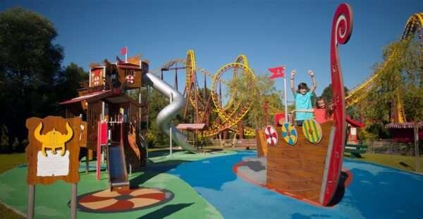 Парк «Астерикс» — развлечение без очередей
