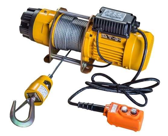 Электрическая лебедка и правила ее безопасной эксплуатации