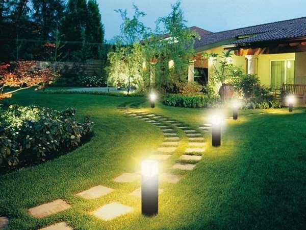 Реализация качественного ландшафтного освещения
