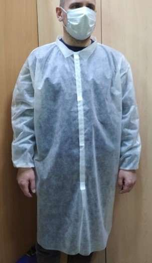 Одноразовые надежные защитные халаты