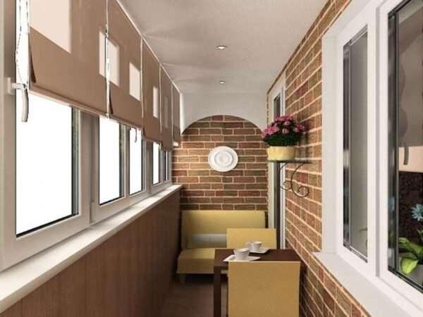 Реализация наиболее современных балконов