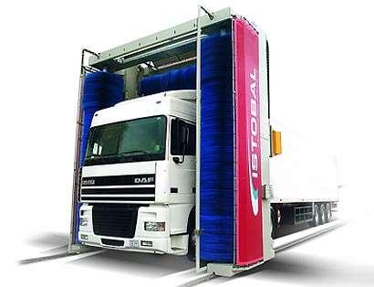 Чем примечательна мойка портальная для грузовых автомобилей?