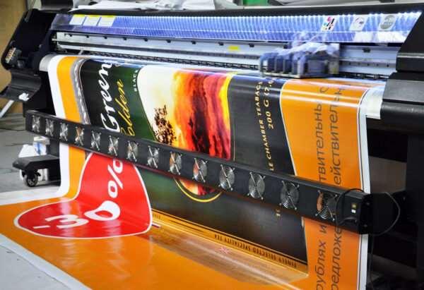 Широкоформатная печать баннера: цели применения