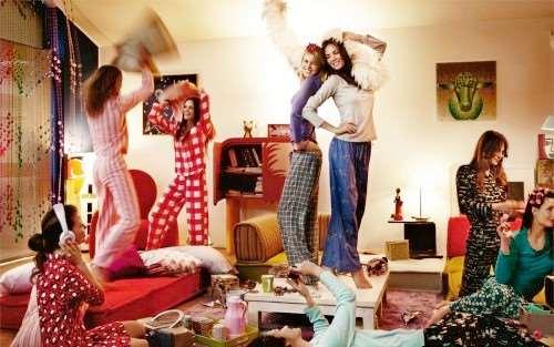 Как проходит организация вечеринки дома?