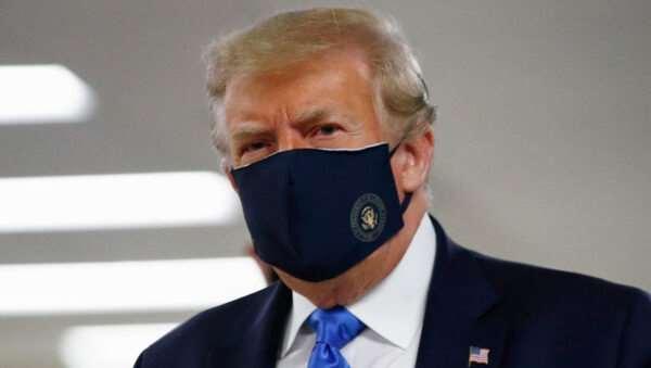 Президент США Дональд Трамп госпитализирован с диагнозом коронавирус