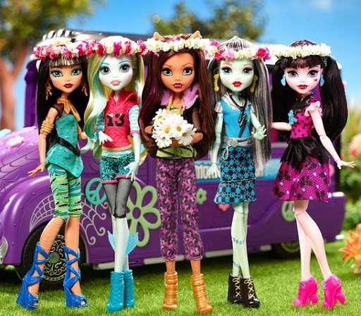 Стильные куклы для детей