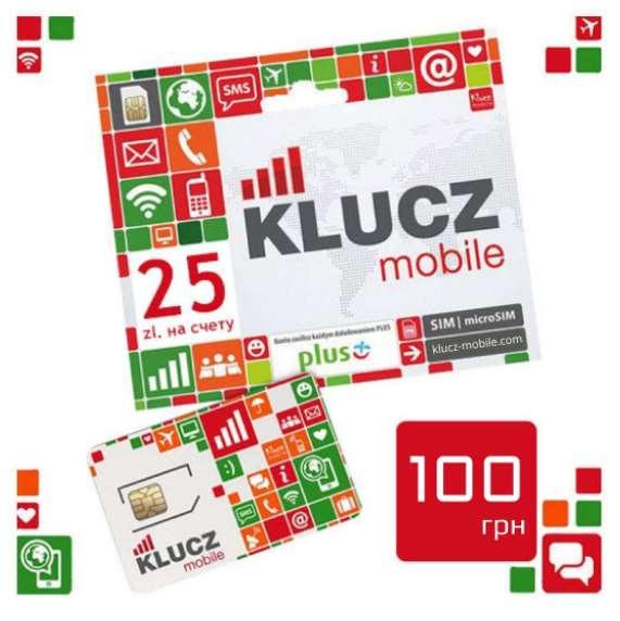 Приобретение польской сим карты KLUCZ