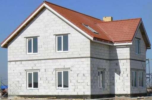 Постройка зданий из пеноблоков спецами