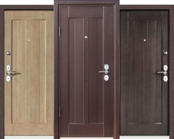 Бюджетные варианты металлических дверей