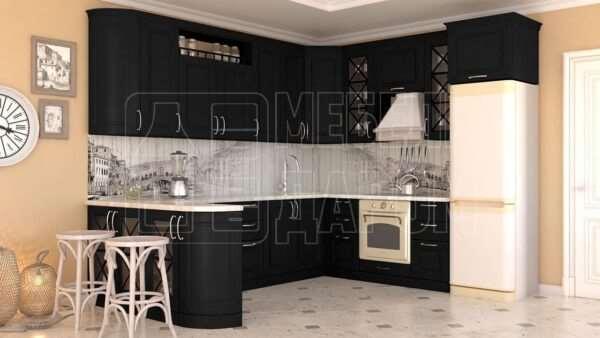 Черные кухни от производителя